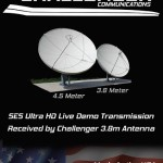 SES 4K UHD Exhibition Demo Challenger Communications