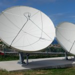 4.5 meter and 3.8 meter price focus satellite dish antenna system by Challenger Communications
