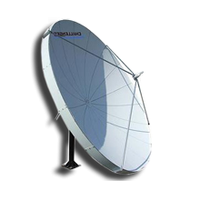 Challenger Communications 4.5 meter TVRO Receive Only satellite antenna satellite dish