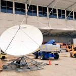 3.8 Meter Challenger Prime Focus Satellite Antenna