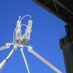 Multibeam Multifeed Challenger Prime Focus 3.8 meter antenna