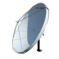 Challenger Communications 3.8 meter prime focus Satellite Antenna